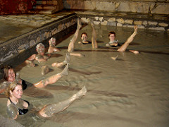 Mud bath yoga