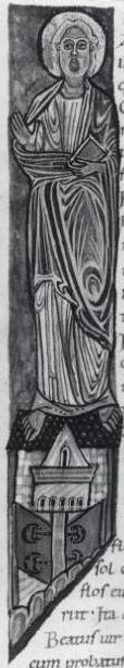 English: The apostle James in the Stavelot Bib...