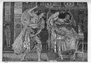 English: Illustration to The Holy Bile, Judges...
